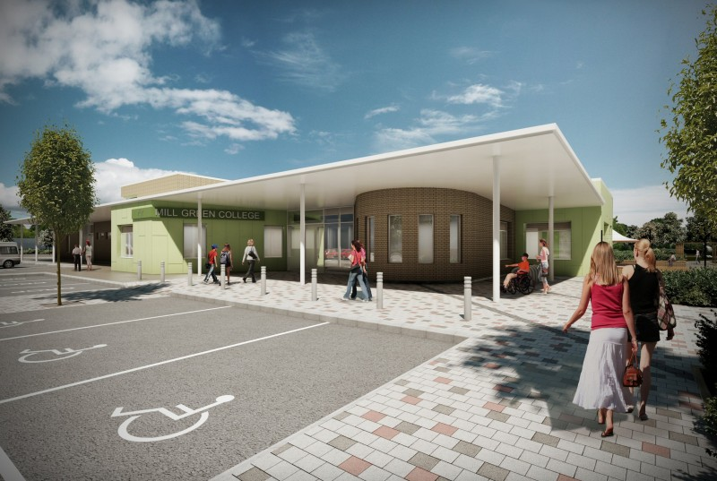Willmott Dixon has secured a £4.6 million contract to create a new home for Mill Green School