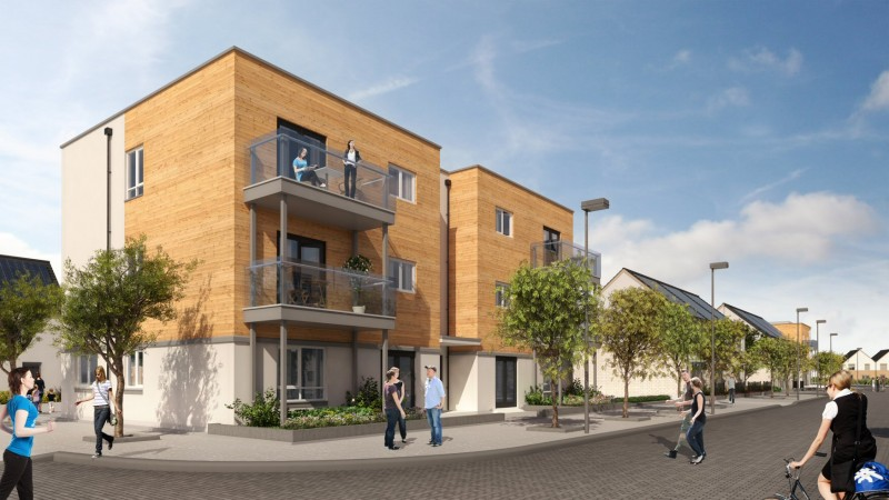 NW Bicester aims to be a glimpse into the future of new residential developments that make minimal impact on the environment and promote sustainable lifestyles