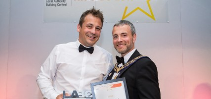 Image of Marcus Piet wins LABC West of England Resi site manager of the year cropped.jpg